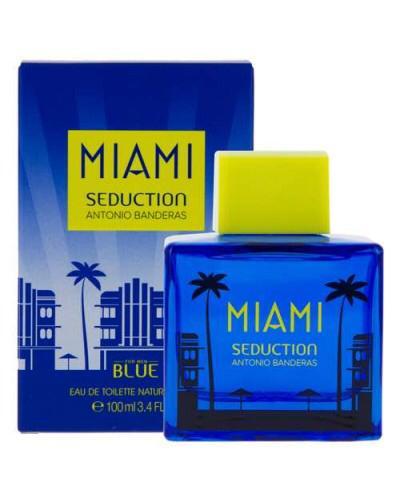 عطر مردانه آنتونیو باندراس میامی سداکشن بلو Antonio Banderas Miami Seduction Blue for Men