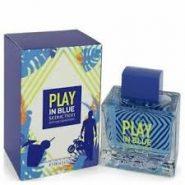 عطر مردانه آنتونیو باندراس (Antonio Banderas) مدل پلی این بلو سداکشن (Play In Blue Seduction) حجم 100 میل