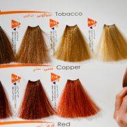 رنگ مو ویتامول سری تنباکویی
