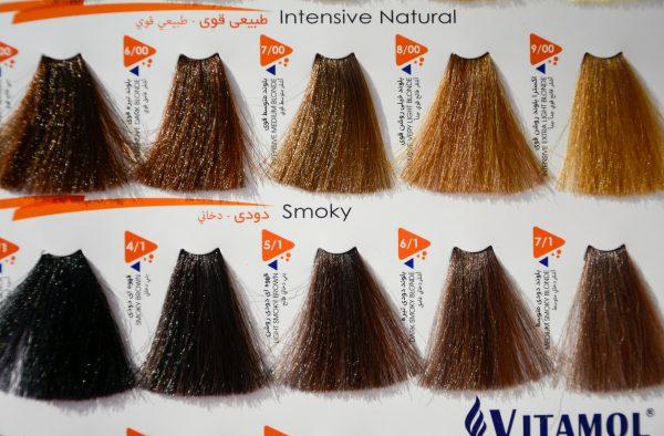 رنگ مو ویتامول سری دودی