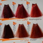 رنگ مو ویتامول سری قرمز