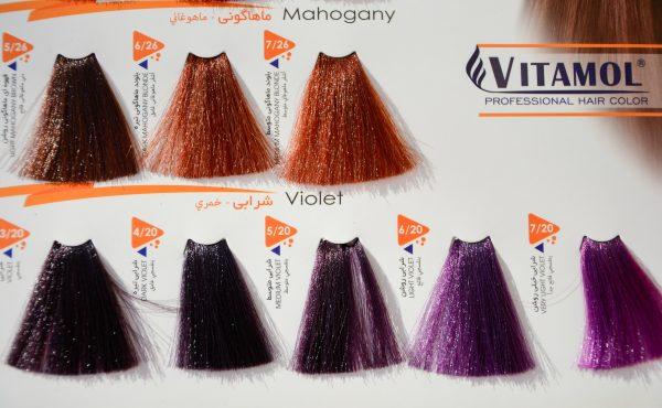 رنگ مو ویتامول سری ماهاگونی