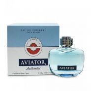 عطر مردانه پاریس بلو (Paris Blue) مدل اویاتور اوسنتیک (Aviator Authentic) حجم 100 میل از مشخصه منحصر به فرد این عطر با دوام و خوش بوی می باشد.رایحه بسیار مردانه ونیرو بخش است.بو و رایحه بهار نارنج این ادوکلن با عطر سنبل آروماتیک و برگ بنفشه ادغام شده و موجب برانگیختگی احساسات شما می شود.ساختار هارمونیک شمعدانی عط