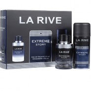 ست عطر و اسپری مردانه لاریو (LA RIVE) مدل اکستریم استوری (EXTREME STORY) حجم 75 میل