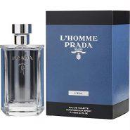 عطر مردانه پرادا (Prada) مدل لهوم لئو (L'HOMME L'EAU) حجم 100 میل