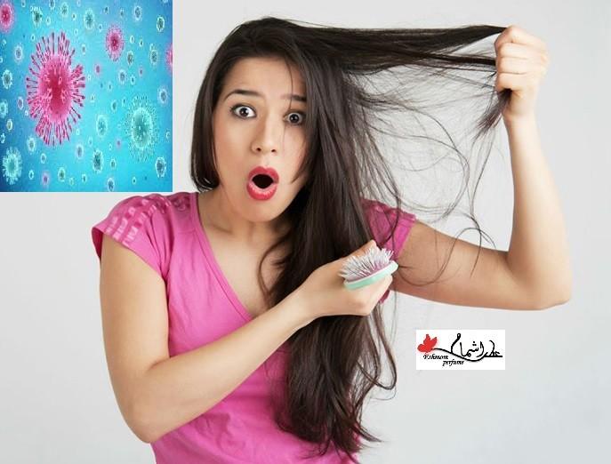 تاثیر کرونا بر ریزش مو