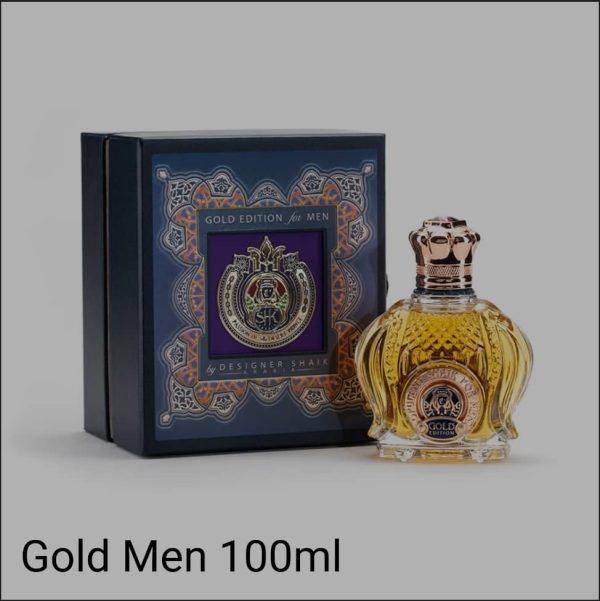 عطر مردانه شیخ (Shaik) مدل گلد ادیشن (Gold Edition) حجم 100 میل